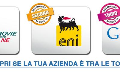 Ferrovie dello Stato Italiane è il Best Employer of Choice 2015