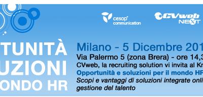 Opportunità e soluzioni per il mondo HR