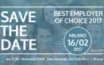 16 febbraio, Milano, Best Employer of Choice 2017