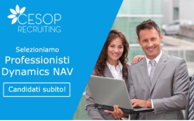 Cesop seleziona per importante azienda IT professionisti Dynamics NAV