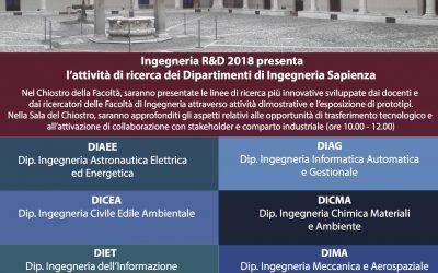 Ingegneria R&D 2018: la ricerca vista da vicino