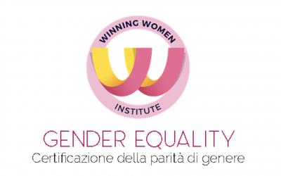 Certificazione della parità di genere. Scegli il Winning Women Institute!
