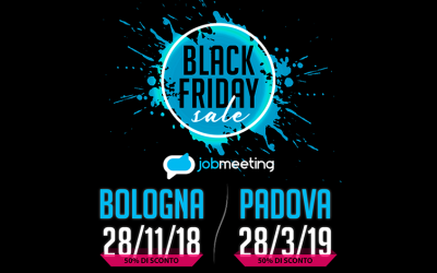 Ecco il Black Friday del Job Meeting Network: scopri l'offerta!