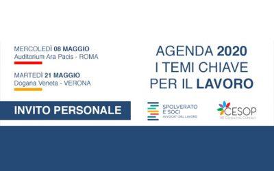 A Roma e Verona due eventi sui temi chiave per il lavoro