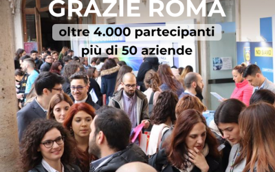 Job Meeting Roma: numeri da record