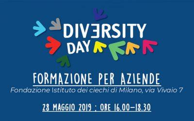 Lavoro e disabilità. Il 28 maggio una nuova giornata formativa Diversity Day