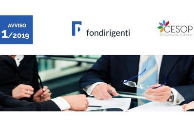 Bando 1/2019 Fondirigenti. Formazione a costo zero per dirigenti e manager
