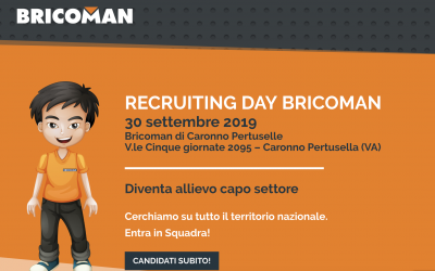 Il nuovo recruiting day di Bricoman