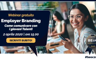 2 Aprile 2020 – Un Webinar per conoscere i canali di comunicazione preferiti dai giovani Talenti – iscriviti gratuitamente