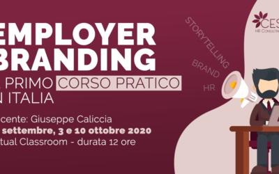 Employer Branding: il primo corso pratico in Italia (backup 1a ed)