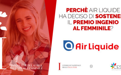 Intervista Air Liquide per Ingenio al Femminile