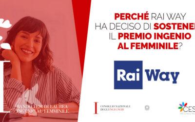 Intervista Rai Way per Ingenio al Femminile